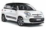 Fiat 500 L from Green Motion