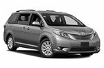 Toyota Sienna от Mex Rent a Car