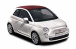 Fiat 500 Convertible from Hertz Premium