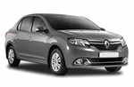 Renault Logan from Caravan Rent a Car
