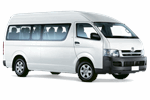TOYOTA HIACE MINIBUS from Europcar