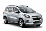 CHEVROLET SPIN 1.8 от Europcar