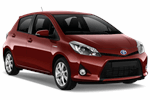 TOYOTA YARIS 1.2 from Europcar