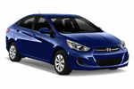 HYUNDAI ACCENT SEDAN 1.5 from Europcar