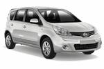 NISSAN NOTE 1.5L AC от Europcar
