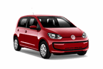 VW UP 1.0 from Keddy by Europcar
