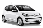 VOLKSWAGEN UP 1.0 from Keddy by Europcar
